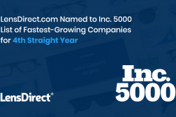 lensdirect inc 5000 4th straight year