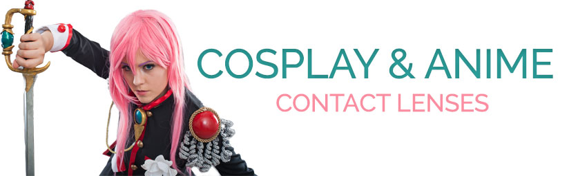 anime cosplay contacts