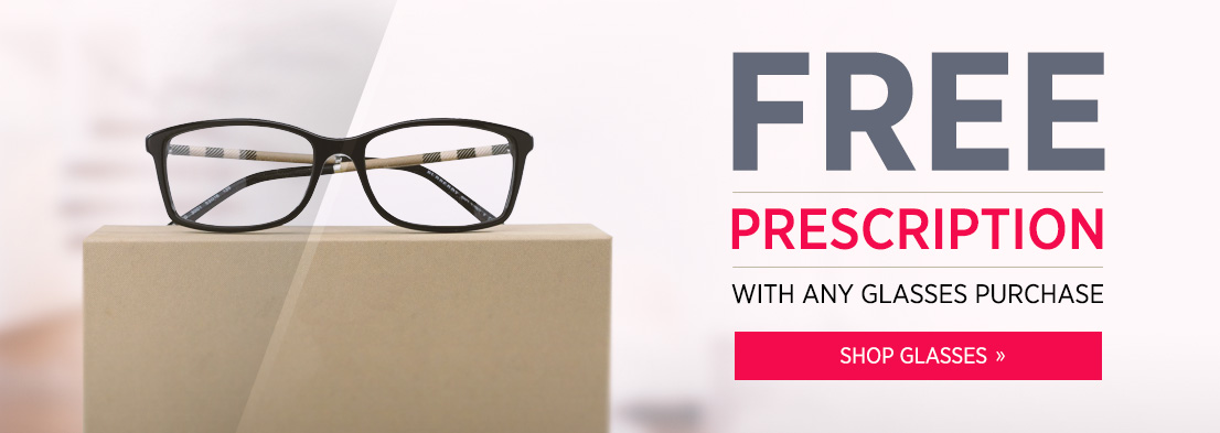 free prescription with any glasses purchase