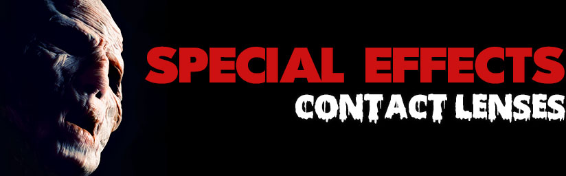 Special Effects Contacts Banner
