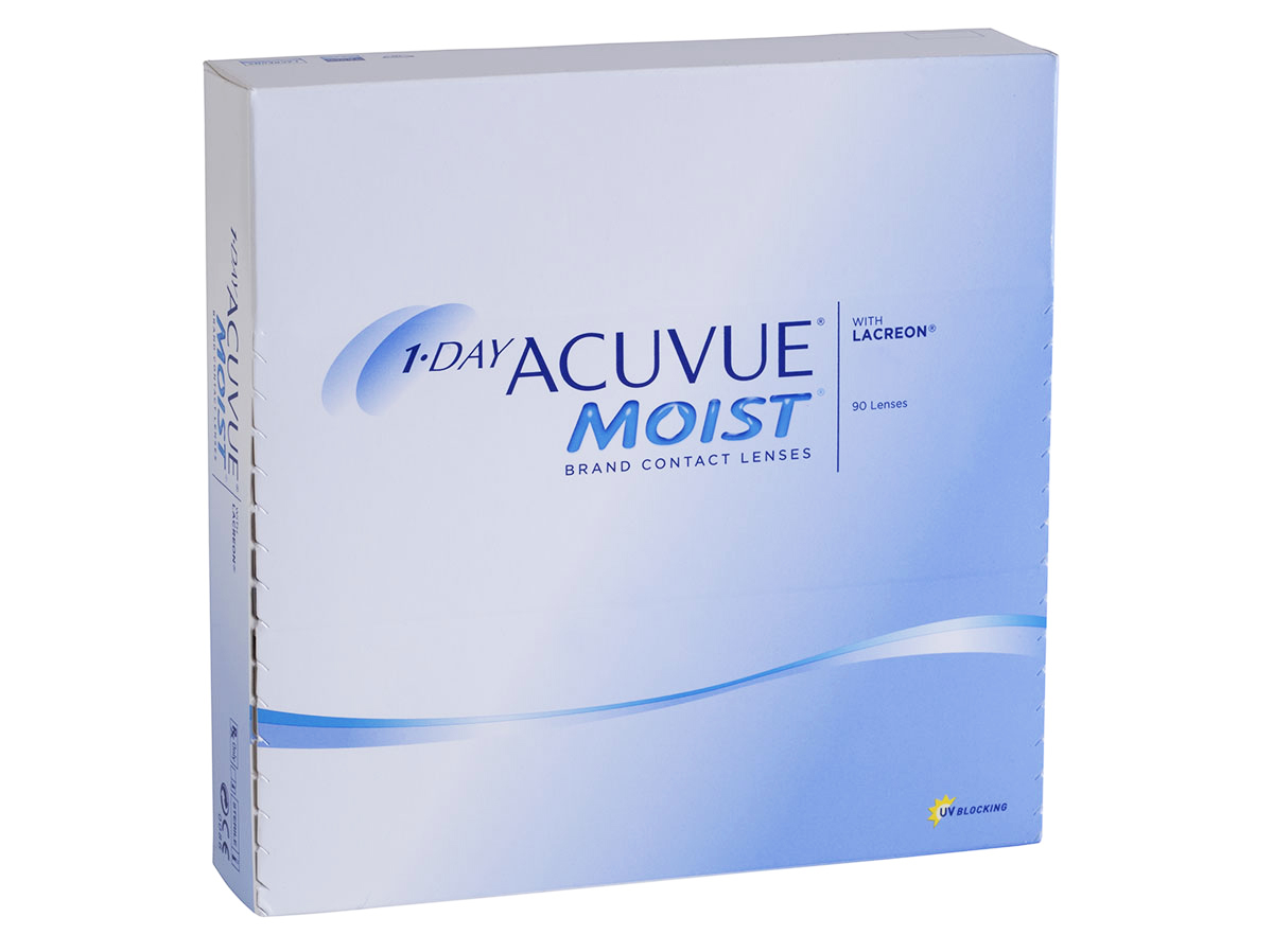 1 Day Acuvue Moist 90 Pack Contact Lenses Lensdirect Com