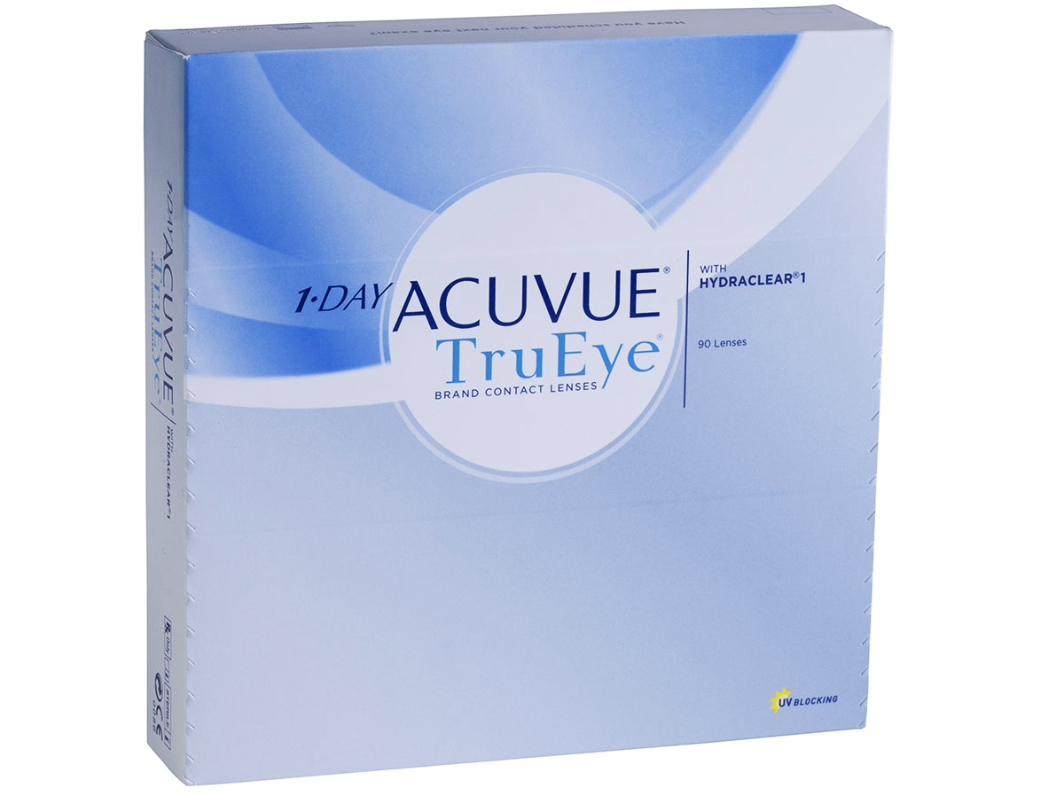 1 Day Acuvue Trueye 90pk Trueye Dailies Lensdirect