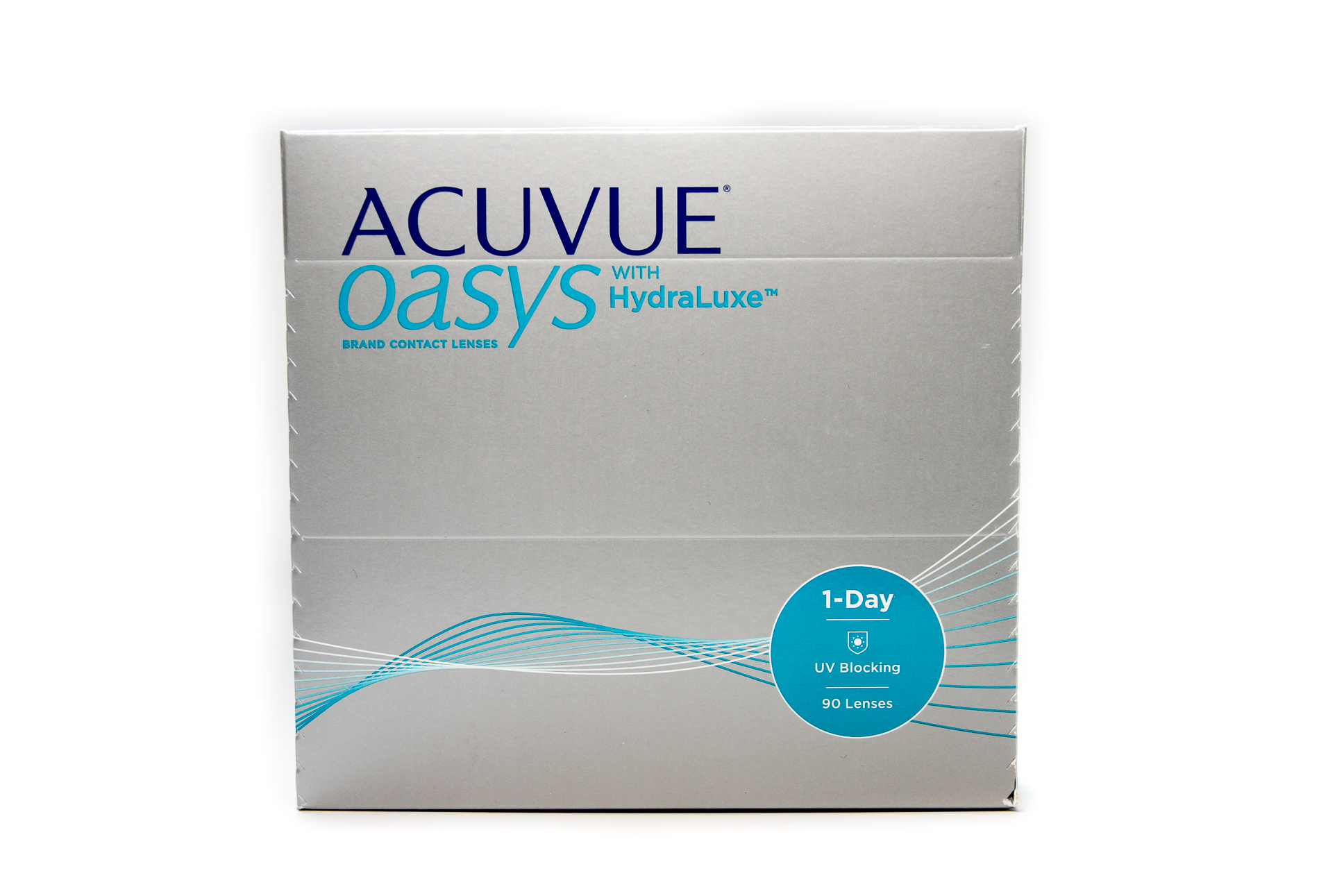 Acuvue Oasys Contacts >> Acuvue Oasys 1-Day with Hydraluxe – 90 pack | LensDirect
