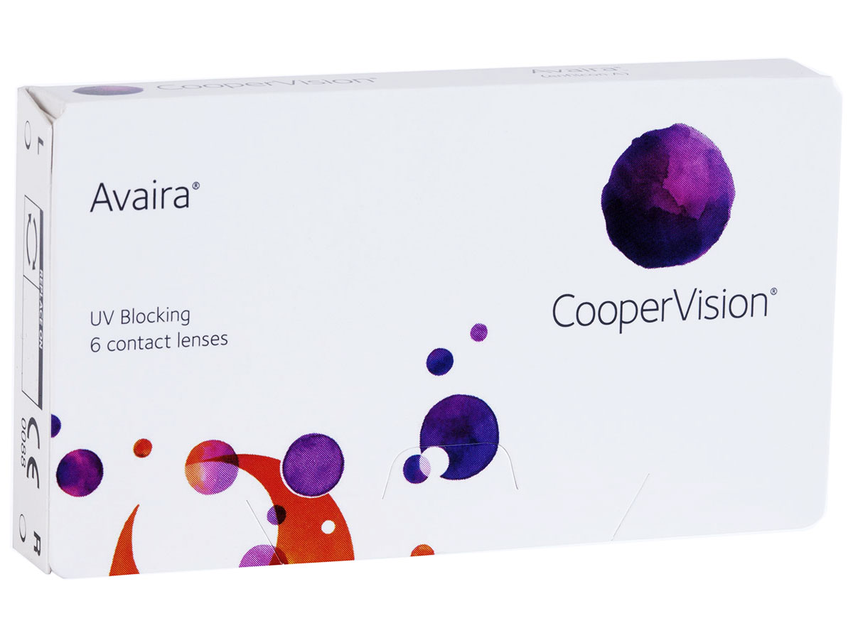 Avaira Contacts 6 pack