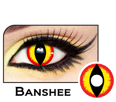 Banshee Slit Pupil Contacts