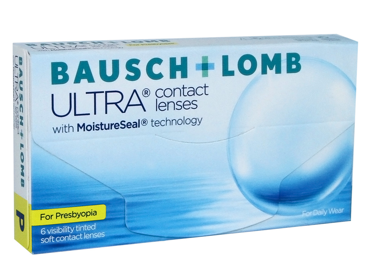 Bausch & Lomb ULTRA for Presbyopia Front