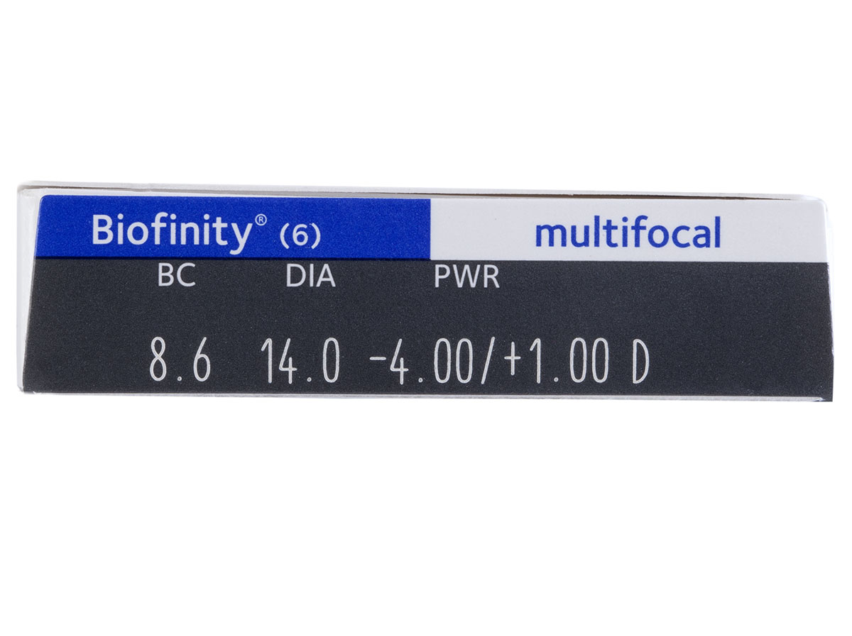 Biofinity Multifocal D Contacts Powers