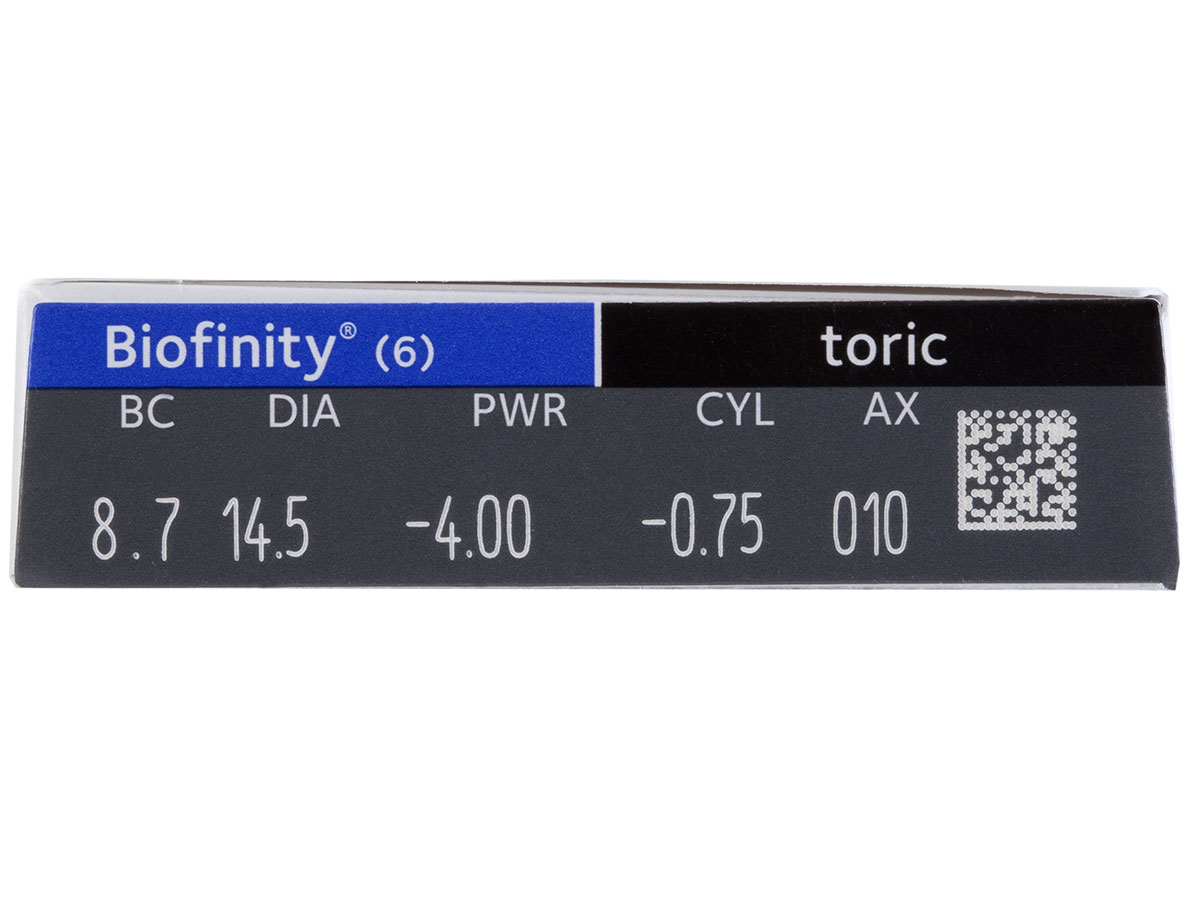 Biofinity Toric 6pk Powers