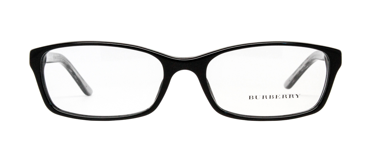 Eyeglass Frames Be2073 : Burberry Be2073 53mm Womens Glasses - Black LensDirect
