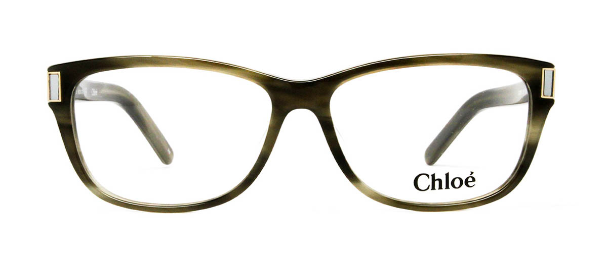 Chloe CE2607 316 Striped Green Glasses