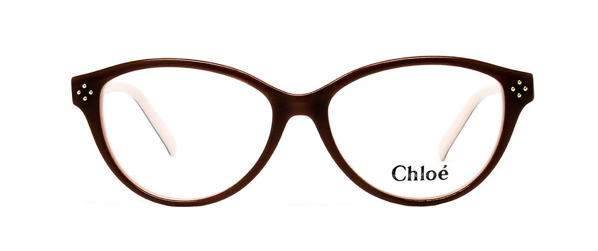 chloe CE2637 905 brown/beige glasses front