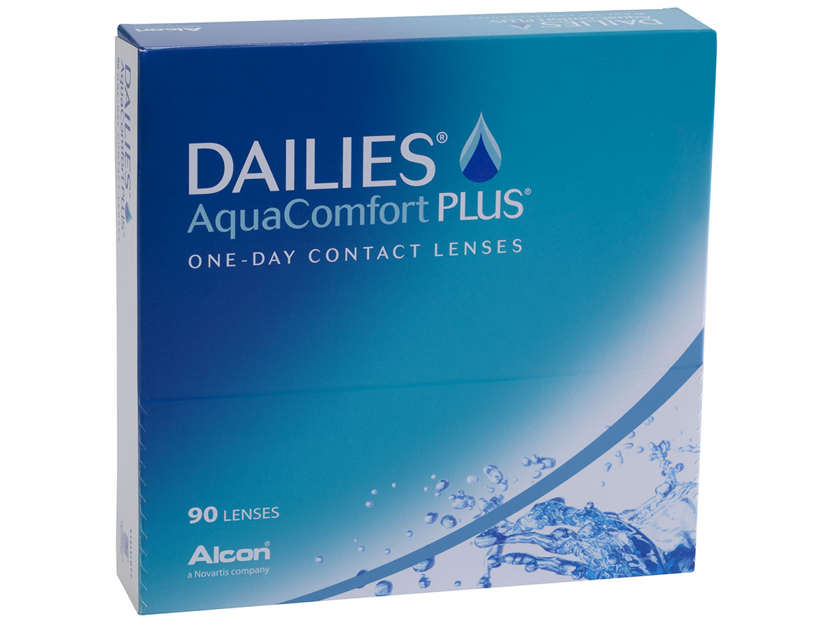 Dailies Aquacomfort Plus 90 Pack By Ciba Vision Lensdirect
