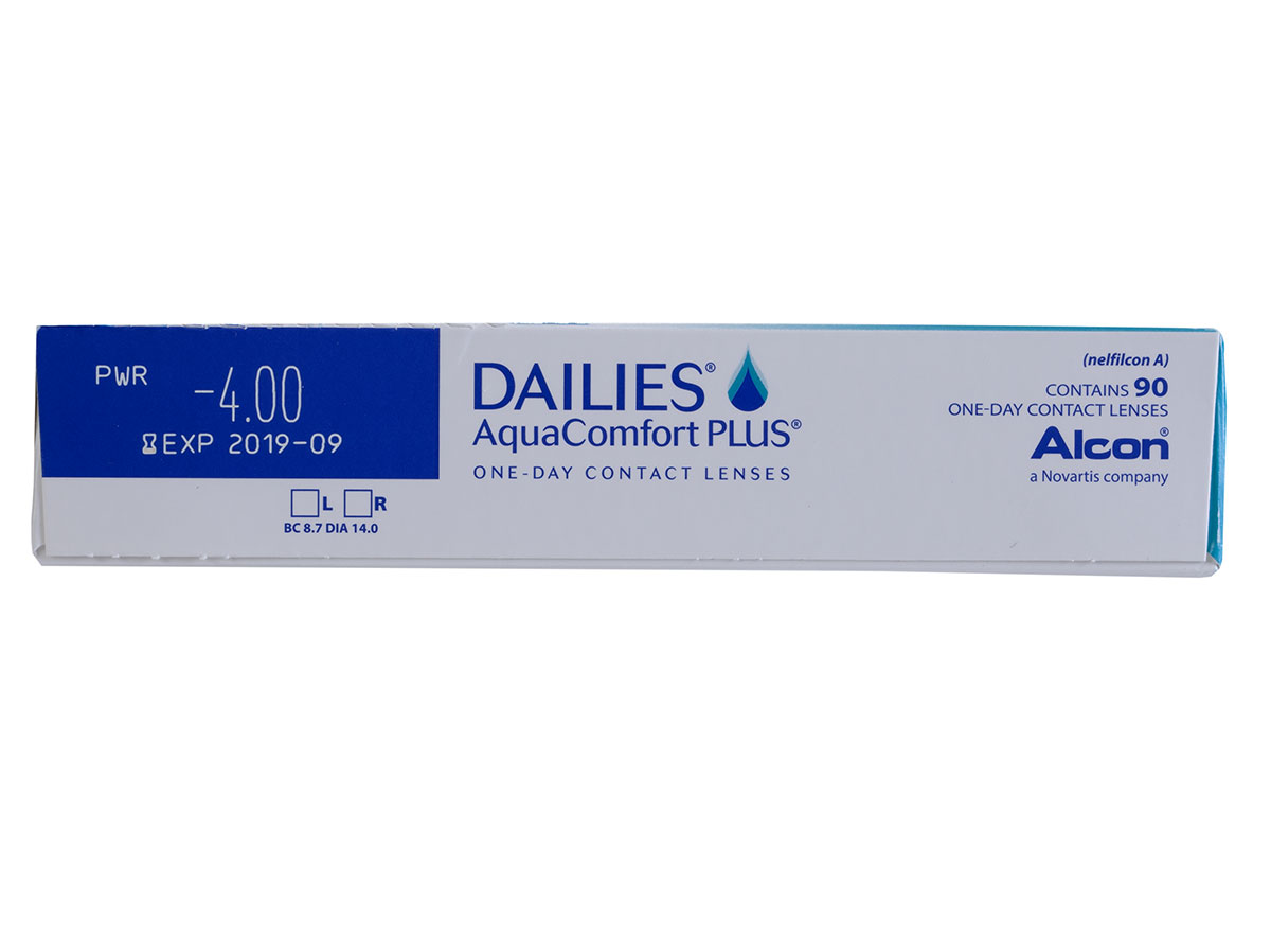DAILIES Aquacomfort Plus 90 Pack Power