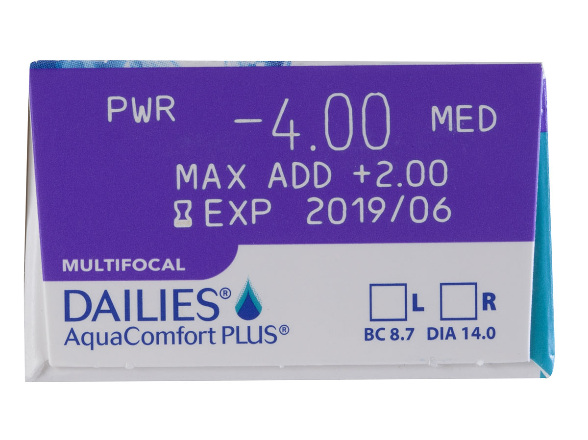 f2b8f0ad48c DAILIES AquaComfort Plus Multifocal 30 pack. Your prescription is on the  box. Copy ...