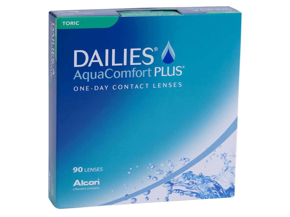 Dailies Aquacomfort Plus Toric 90 Pack Lensdirect