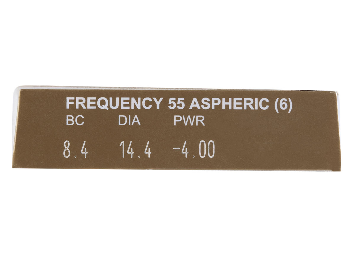 Frequency 55 Aspheric Contact Lens Powers