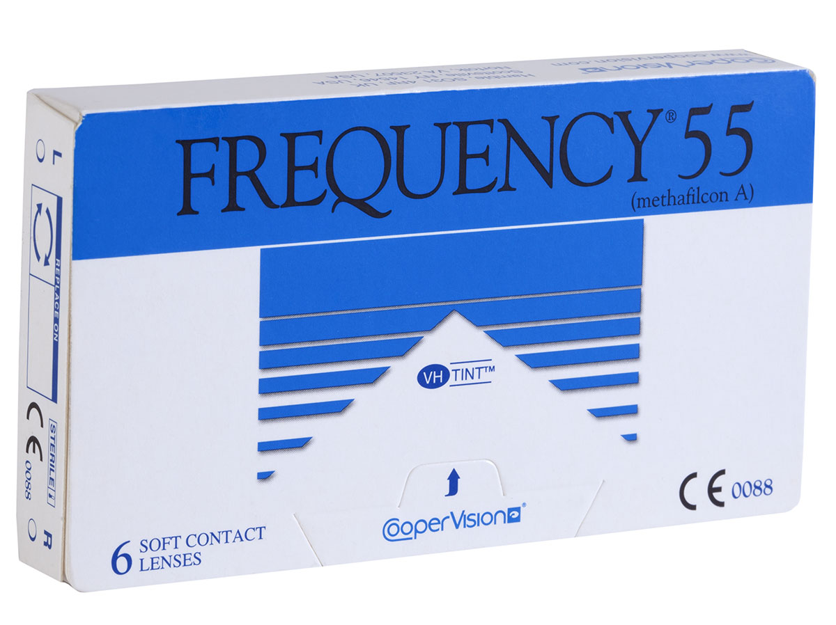 Frequency 55 Contact Lenses By Coopervision Lensdirect