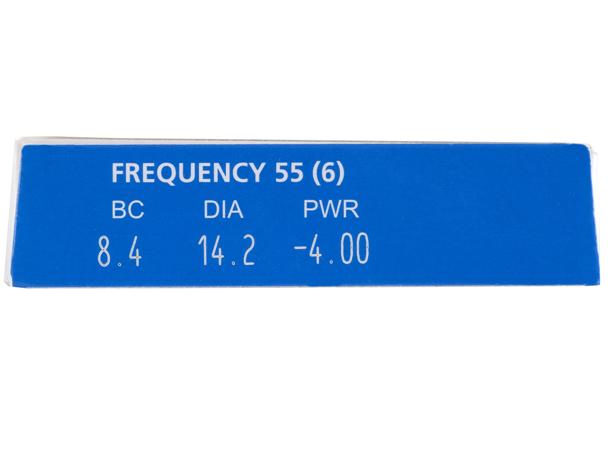Frequency 55 Contact Lenses Powers