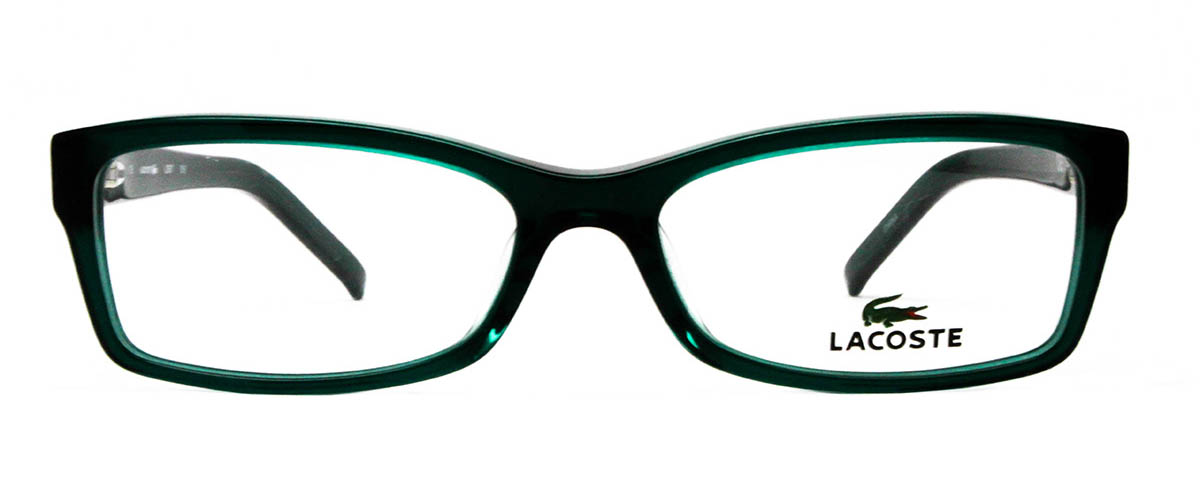 Lacoste L2657 green glasses front