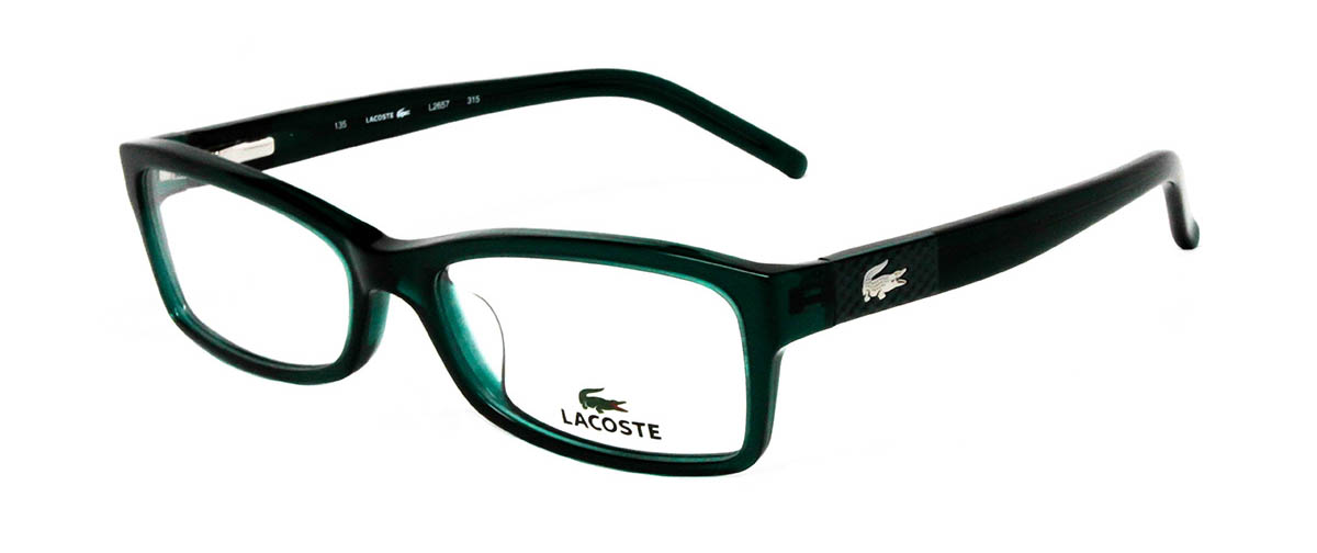 Lacoste L2657 315 Green Glasses | LensDirect