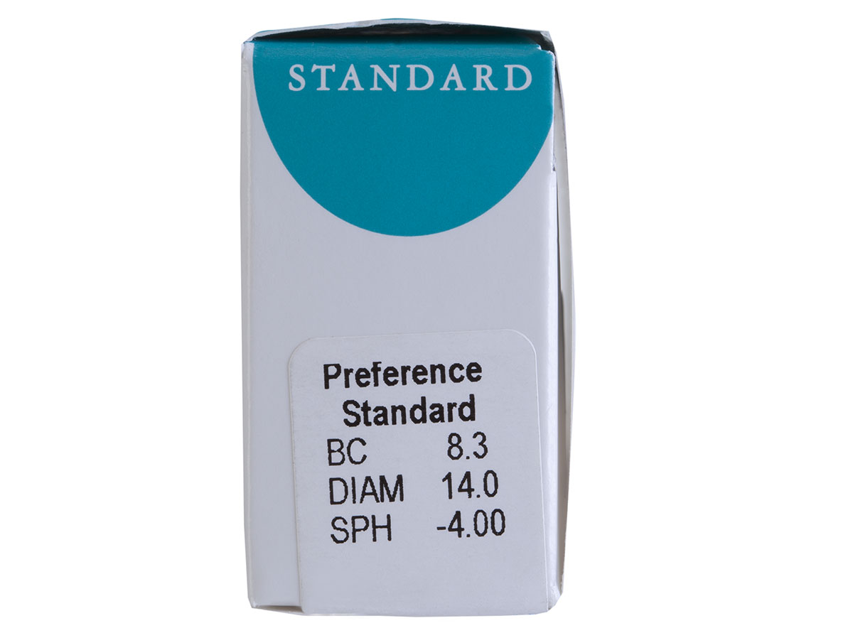preference standard contact lens powers