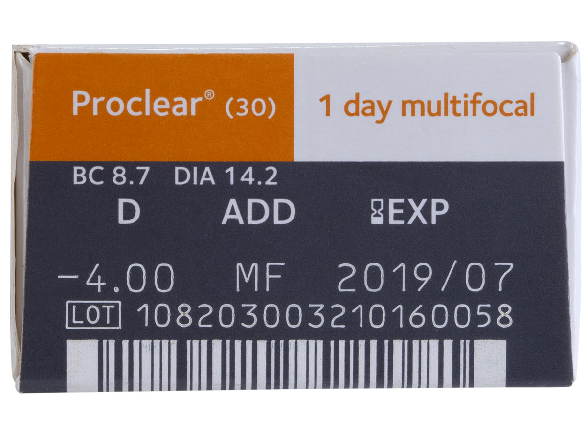 Proclear 1-Day Multifocal 30pk