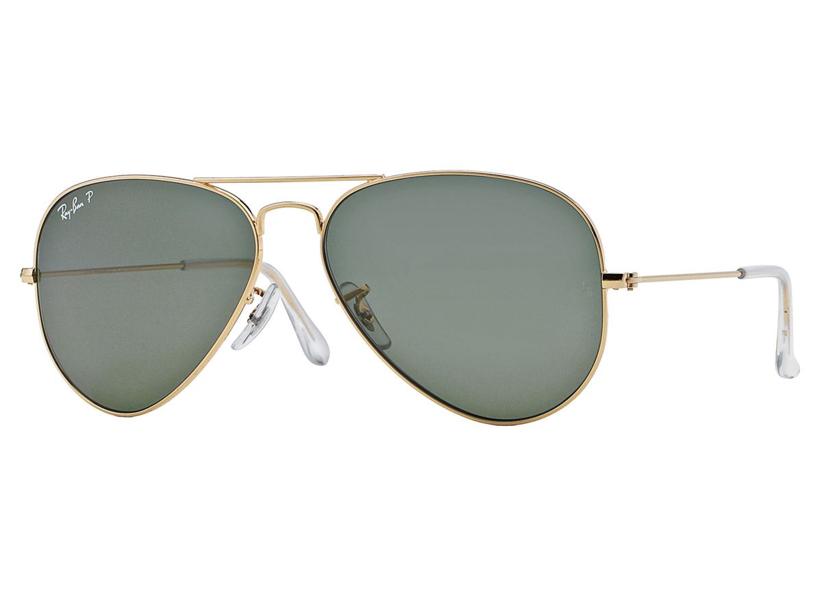 Gold Frame Aviator Glasses : Ray-Ban Aviator Gold Frame/G-15