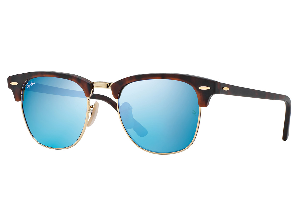 Ray-Ban Clubmaster Flash Tortoise/Blue