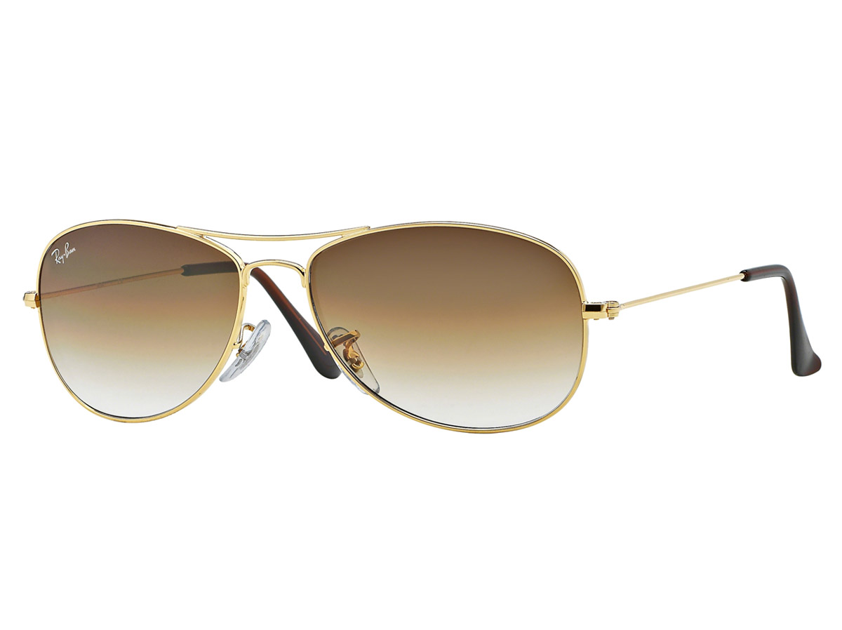 Ray-Ban Cockpit Gold Frame/Brown