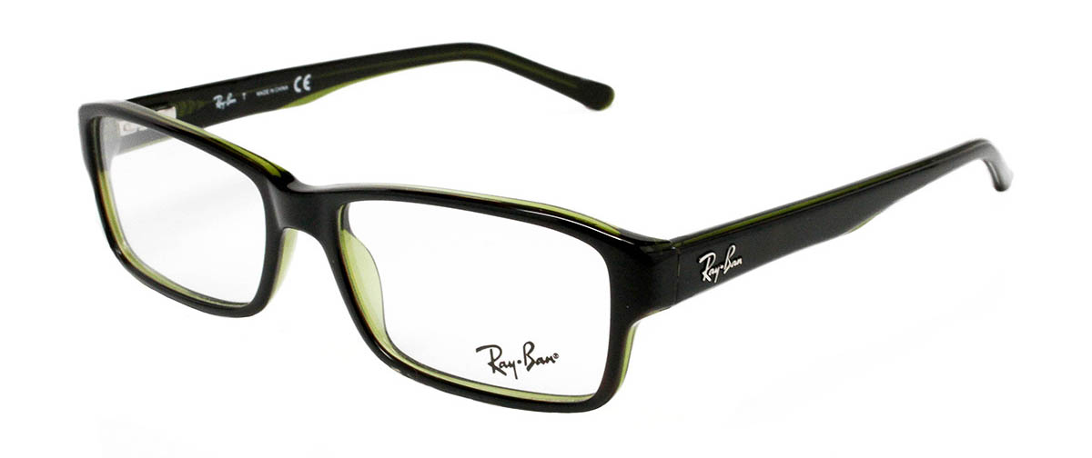 6bb9a6bd73 ... Frames Ray-Ban RB5169 2383 52 Tortoise Green Angled ...