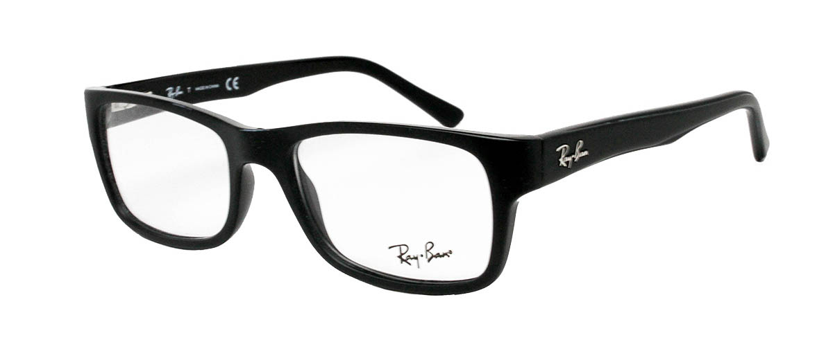 c6768aae4d Ray Ban RB5268 5119 Black Glasses ray-ban rb5268 black glasses angled ...