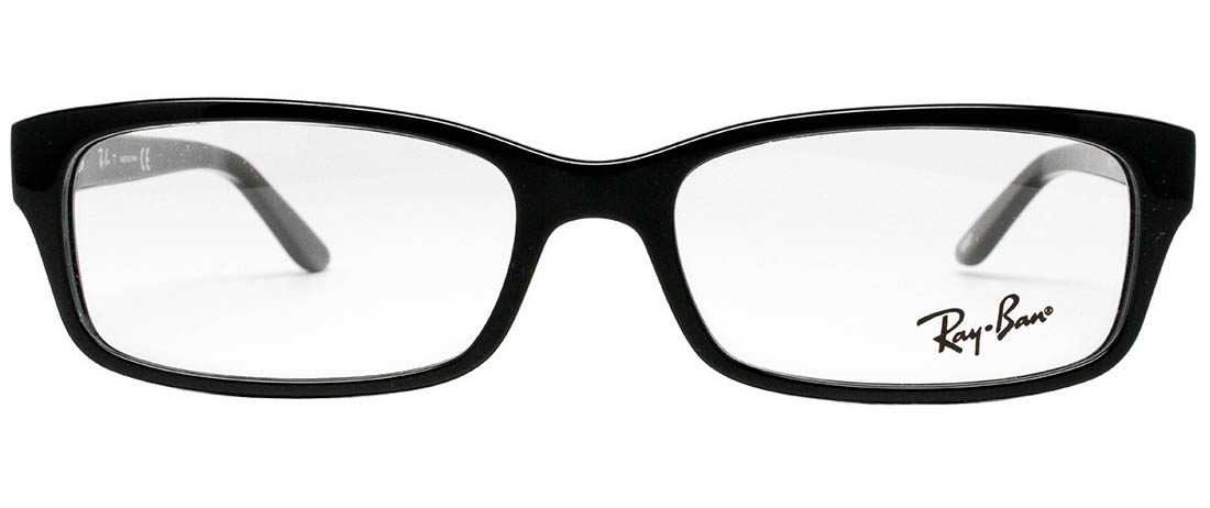 ray ban rx5187 black eyeglasses