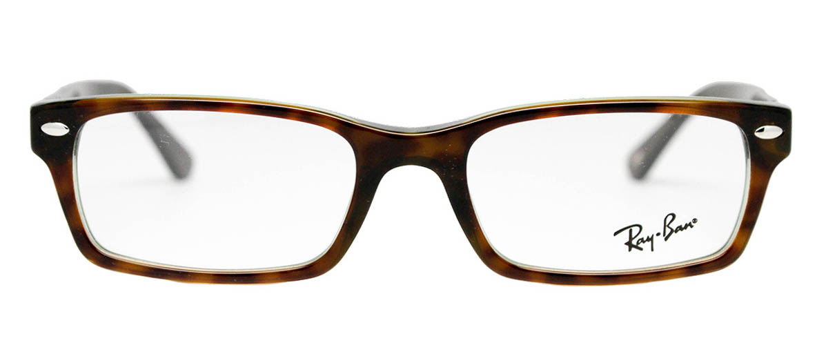 001c648b44caf Ray-Ban RX5206 Havana   Green Men s Glasses