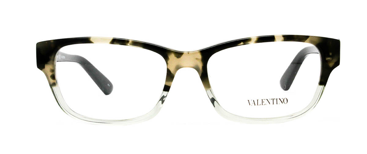 Valentino V2614 232 Havana/Sage Glasses | LensDirect