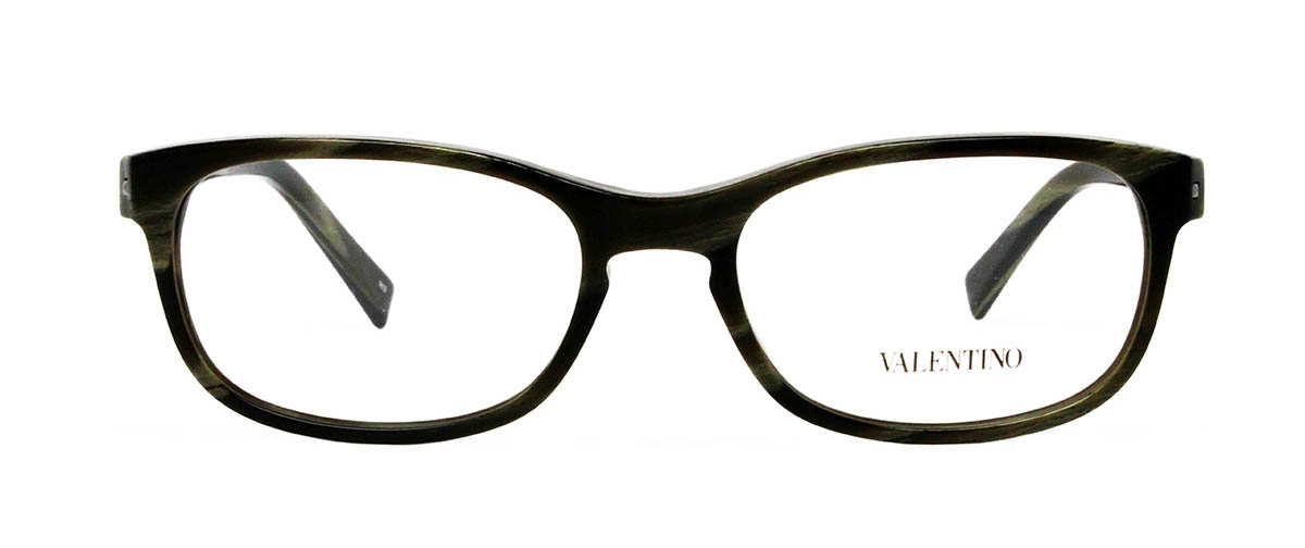 Valentino V2643 305 Striped Khaki glasses