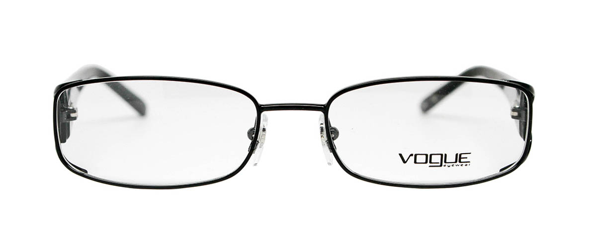 Vogue Vo3671b 53mm Black Glasses