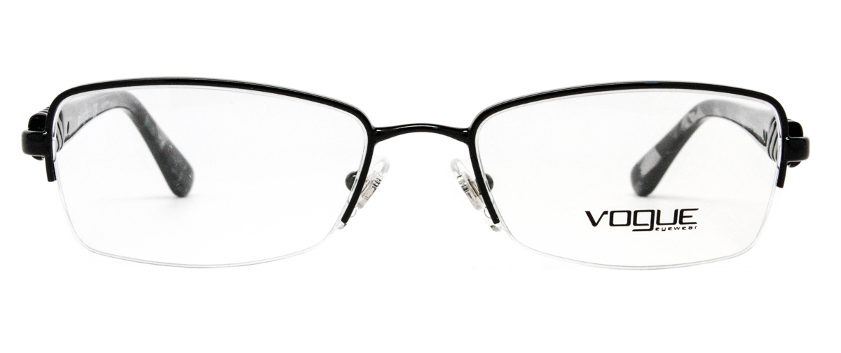 Vogue VO3813B 352 Black Eyeglasses