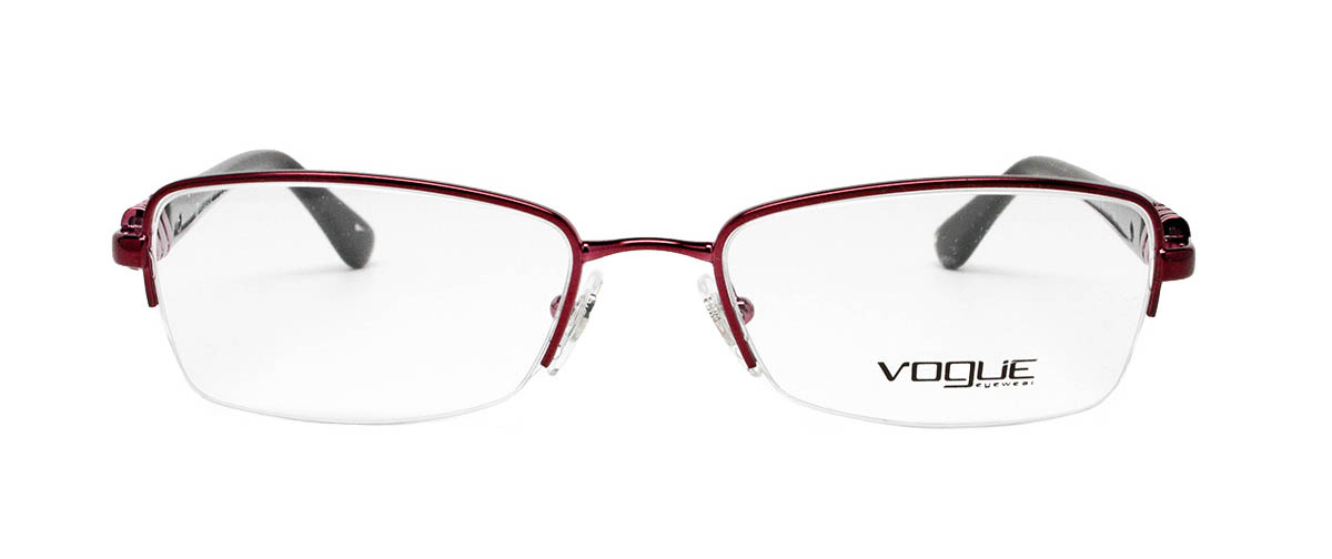 Vogue Vo3813b Bordeaux Glasses For Women