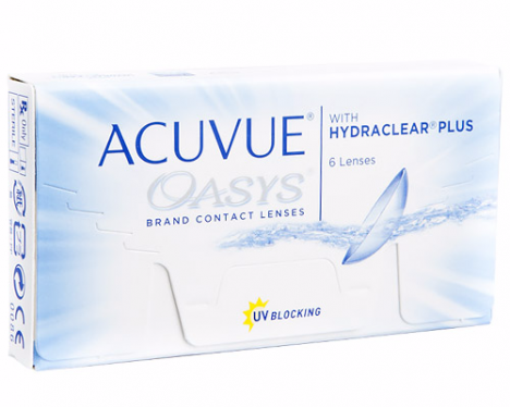 ef9281d39ba Acuvue Oasys with Hydraclear Plus Contacts (6 Pack)