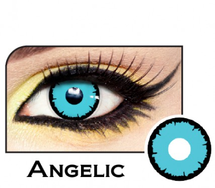 Angelic Blue Contact Lenses