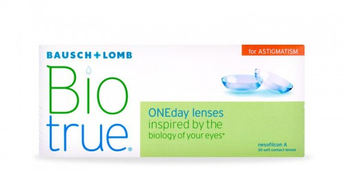 BioTrue one day for astigmatism 90 pack