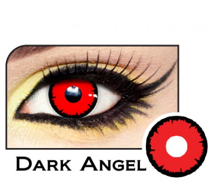 angelic red color contacts