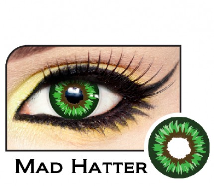 Johnny Depp Mad Hatter Contacts
