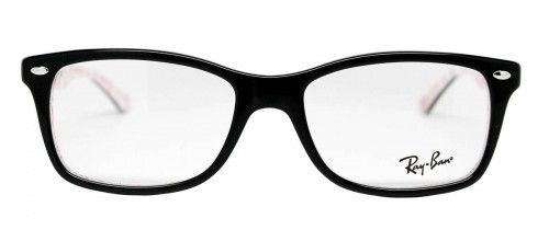 Ray Ban RX5228 Top Black on Texture White