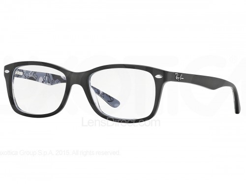 Black Frame Accessory Glasses : Ray Ban Rx5228 Womens Glasses LensDirect