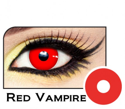 Blood Red Vampire Contacts