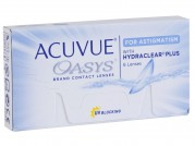 Acuvue Oasys for Astigmatism with Hydraclear
